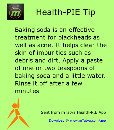 baking soda is an effective treatment for blackheads as well as acne it helps clear 194.png