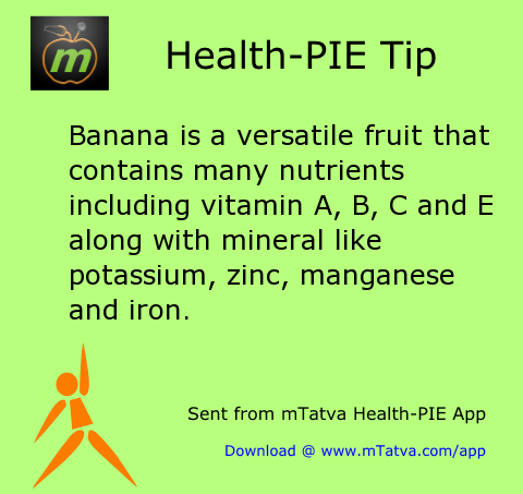 banana is a versatile fruit that contains many nutrients including vitamin a b c and 30.png