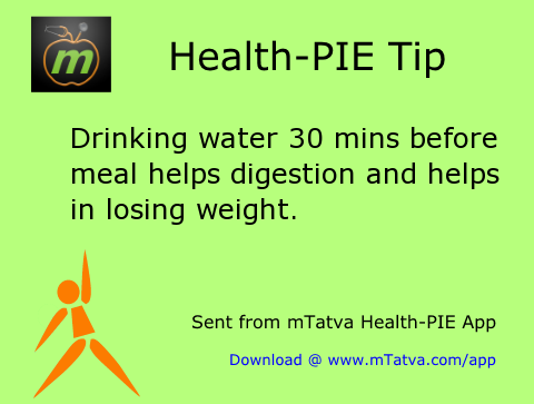 drink water 30 minutes before food helps digestion lose weight 6.png