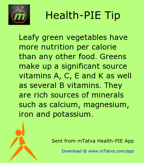 leafy green vegetables have more nutrition per calorie than any other food greens make up 145.png