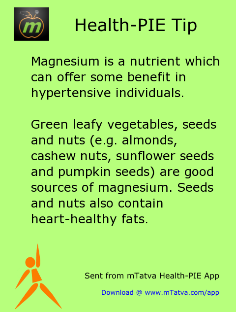 magnesium is a nutrient which can offer some benefit in hypertensive individuals green leafy vegetables 134.png