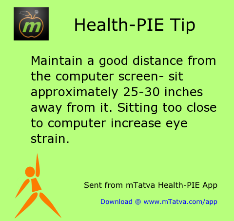 maintain a good distance from the computer screen sit approximately 25 30 inches away from 128.png