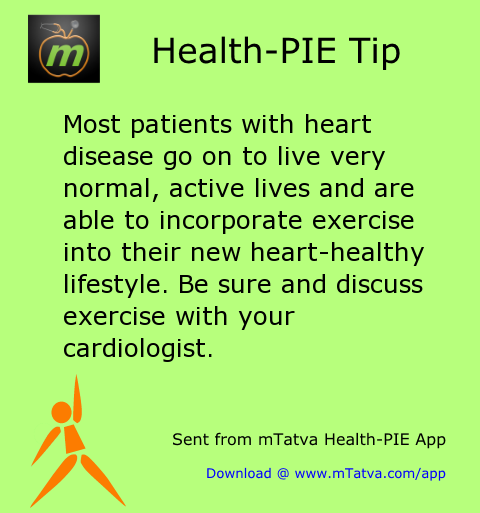 most patients with heart disease go on to live very normal active lives and are 104.png