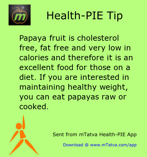 papaya fruit is cholesterol free fat free and very low in calories and therefore it 228.png
