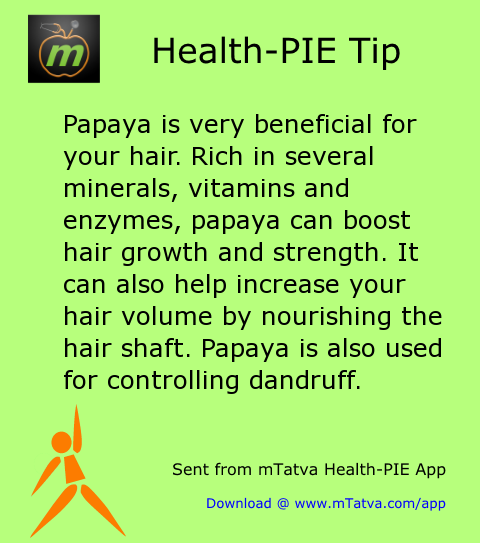 papaya is very beneficial for your hair rich in several minerals vitamins and enzymes papaya 227.png