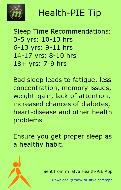 proper sleep needed to avoid health problems like fatigue lack of concentration and memory problems 251.png