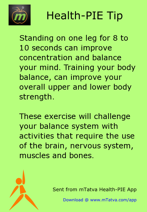 standing on one leg for 8 to 10 seconds can improve concentration and balance your 40.png