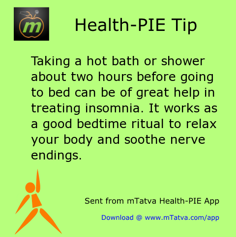 taking a hot bath or shower about two hours before going to bed can be 198.png